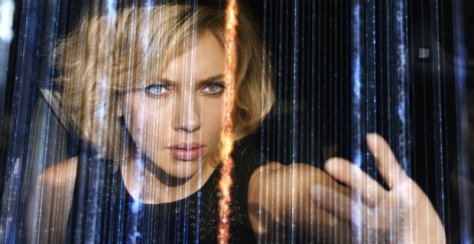 Scene of Lucy altering digital data