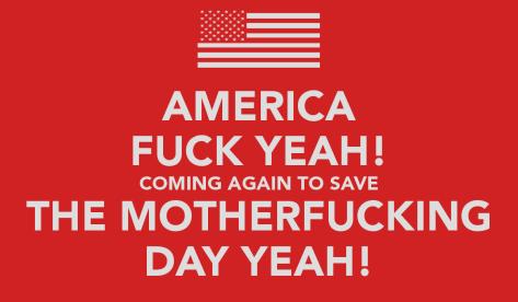 America Fuck Yeah!