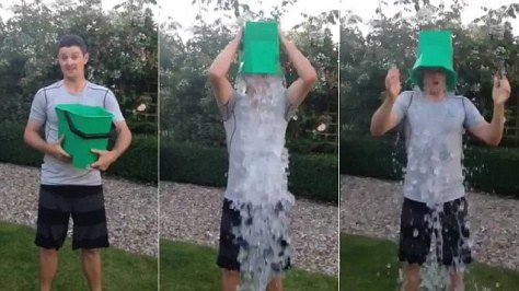 Steps of the Ice Bucket Challenge