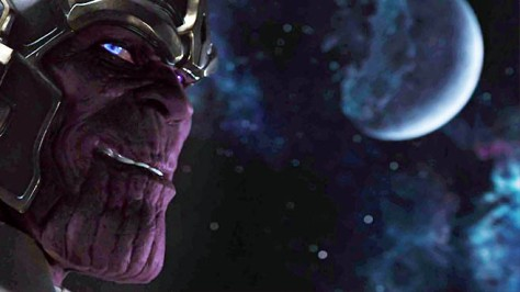 Thanos from Avengers