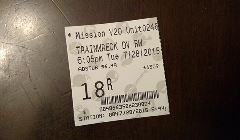 Mission Valley AMC Theater, Tuesday Matinee, just $6.49 per adult!