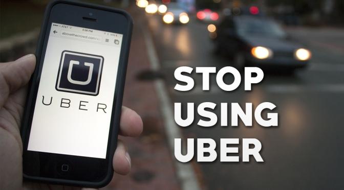 Stop Using Uber