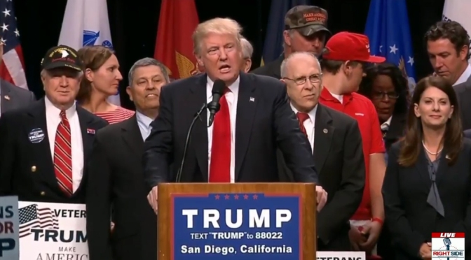 Trump Rally San Diego May 2016